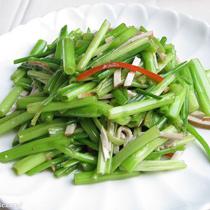 水芹菜的做法大全