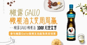 gallo橄露橄榄油申请试用