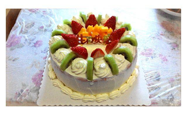 水果生日蛋糕的做法