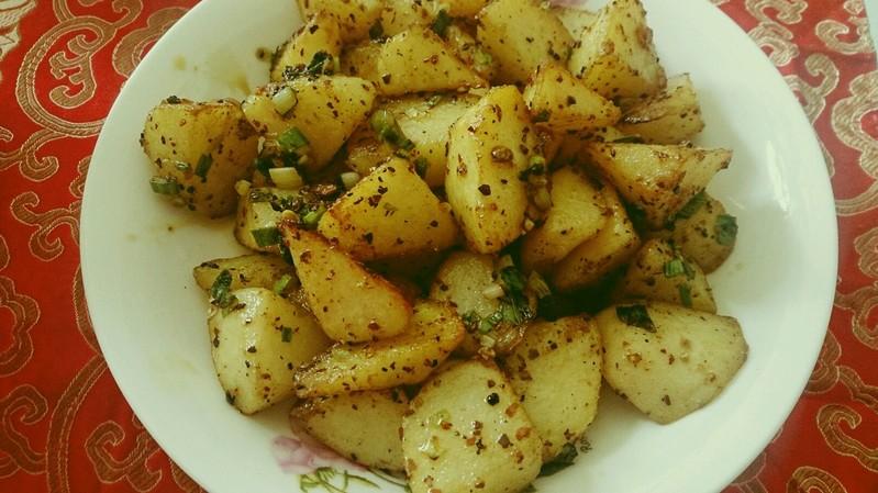 香辣土豆块的做法步骤