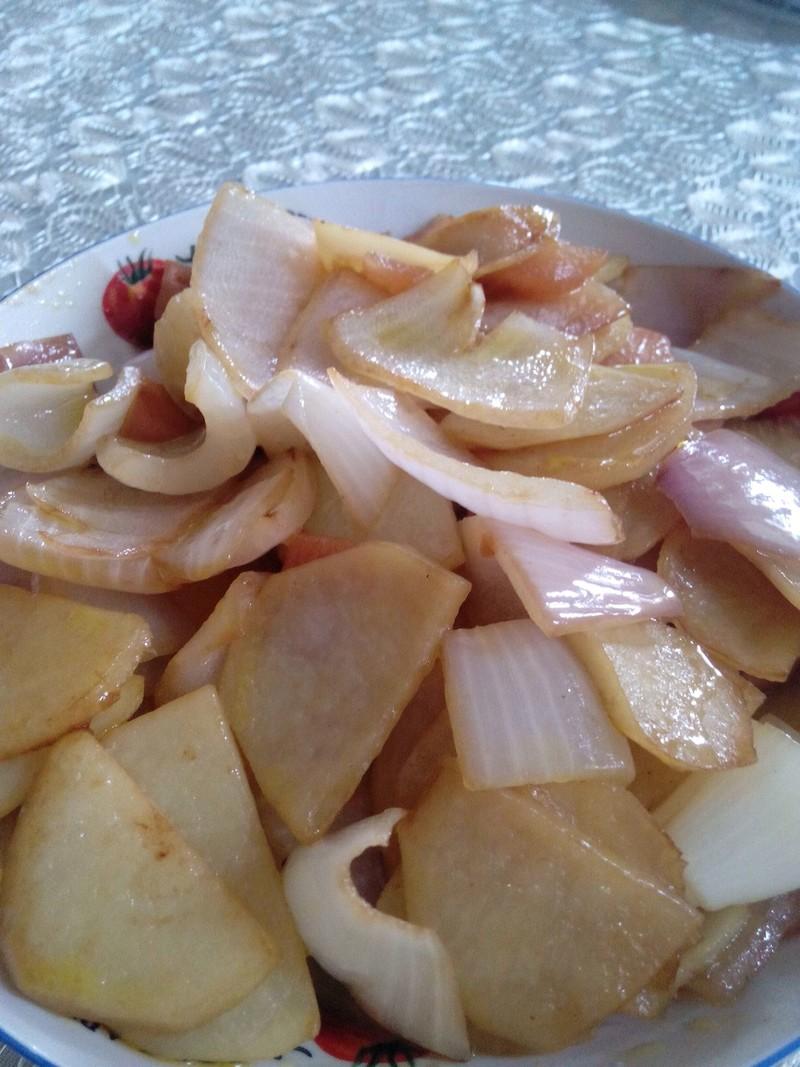 洋蔥土豆的做法_【圖解】洋蔥土豆怎么做好吃