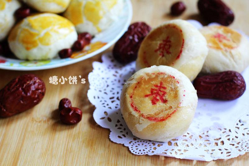 平底锅做月饼【枣泥酥皮月饼】附:便宜纯粹枣泥馅的做法