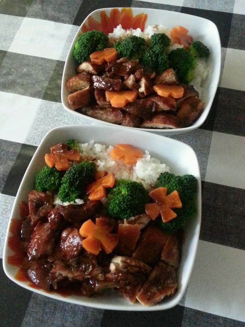 照烧鸡腿饭的做法_【图解】照烧鸡腿饭怎么做好吃