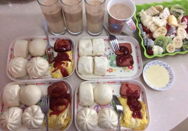 早餐的做法图片