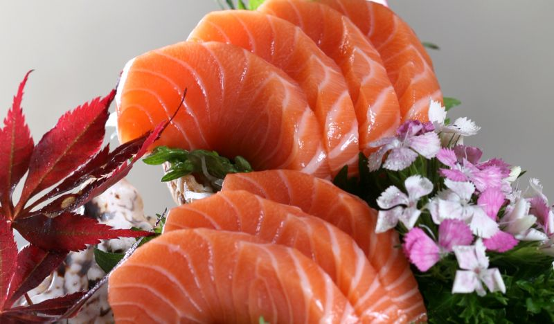 三文鱼刺身的做法_【图解】三文鱼刺身怎么做好吃_山