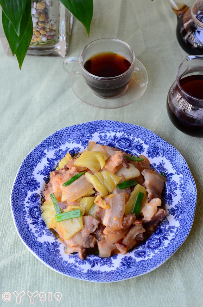 潮汕家常下饭菜——【咸菜炒肉】
