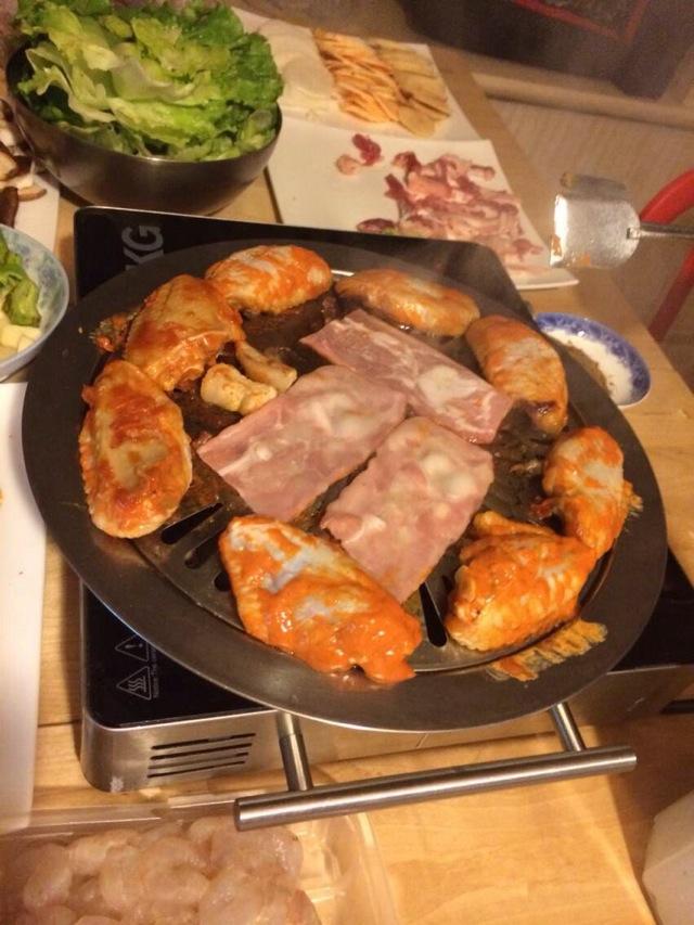 超简单在家待客韩式烤肉的做法