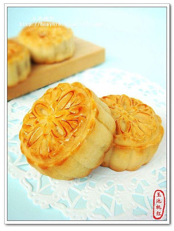 月饼 图解 老北京/老北京提浆月饼