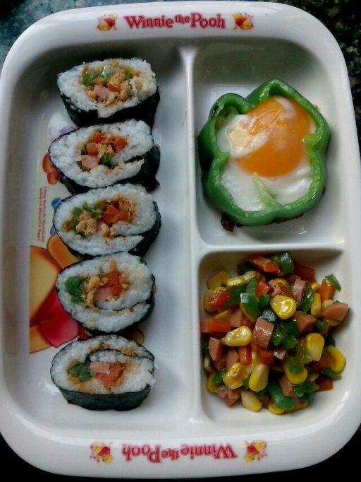 寿司便当的做法_【图解】寿司便当怎么做好吃_蓝色g