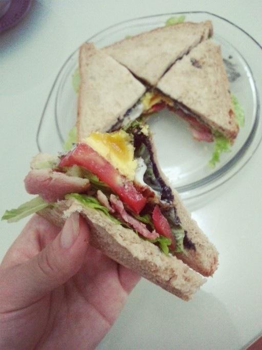自制三明治的做法步骤