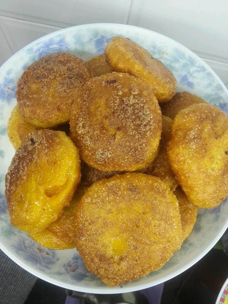 南瓜饼的做法_【图解】南瓜饼怎么做好吃-南瓜饼的做法