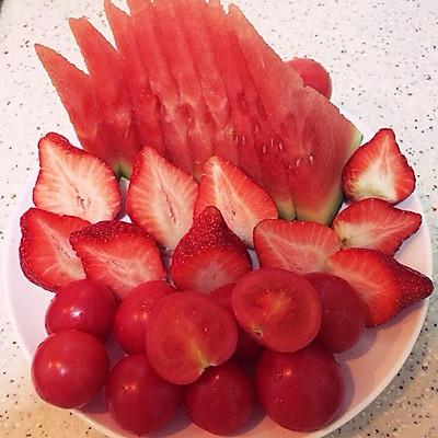 餐后水果拼盘的做法_【图解】餐后水果拼盘怎么做