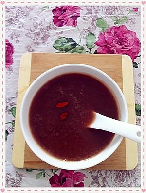 山药紫薯养生米浆