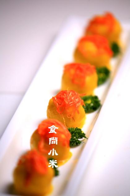 芦笋肉丝 可乐鸡翅 鸡丝凉面 什锦海鲜粥 【椒汁焗鳜鱼】—.