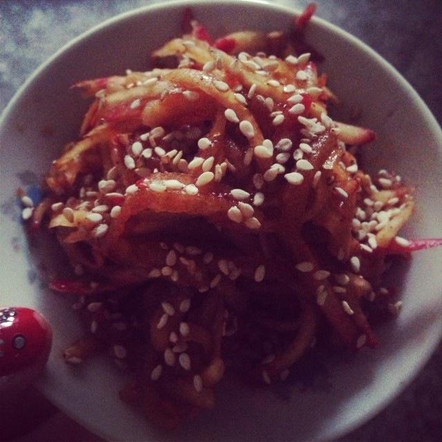 韩国腌萝卜的做法大全图解