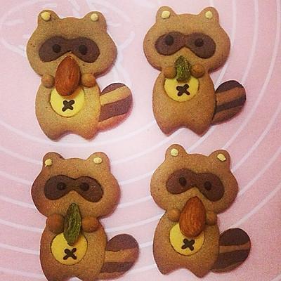 萌萌哒小动物饼干的做法