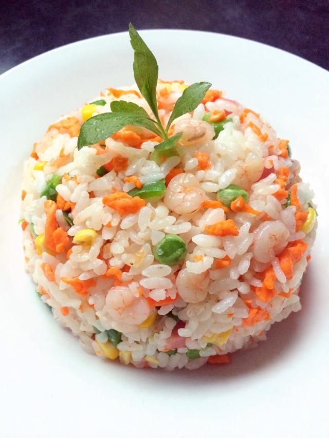沙拉虾球做法图解