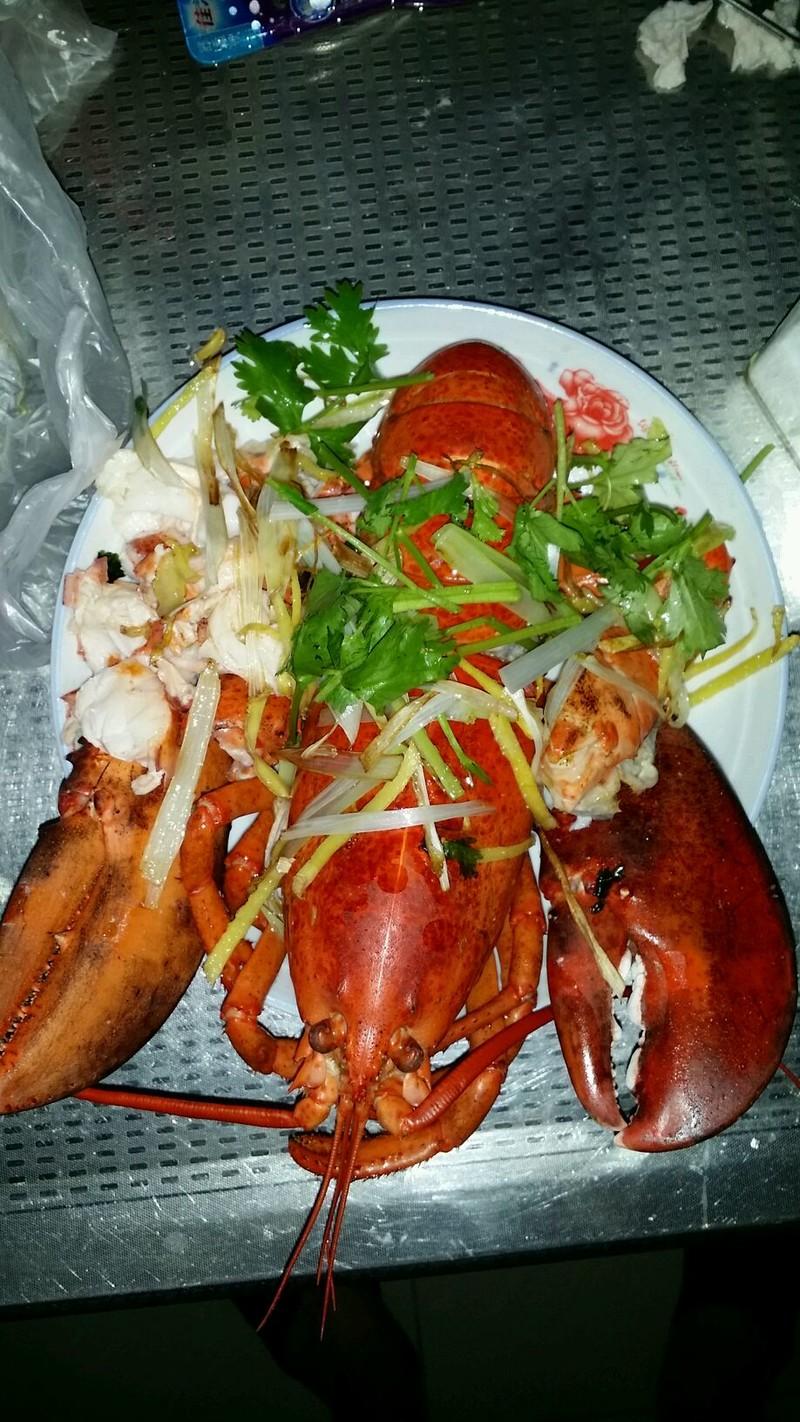 清蒸大龙虾的做法_【图解】清蒸大龙虾怎么做好吃_myj