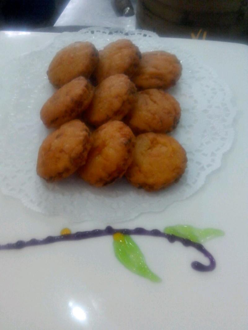 脆皮南瓜饼的做法_【图解】脆皮南瓜饼怎么做好吃-南瓜饼做法很多,