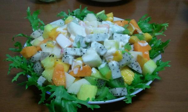 水果沙拉的做法_【图解】水果沙拉怎么做好吃