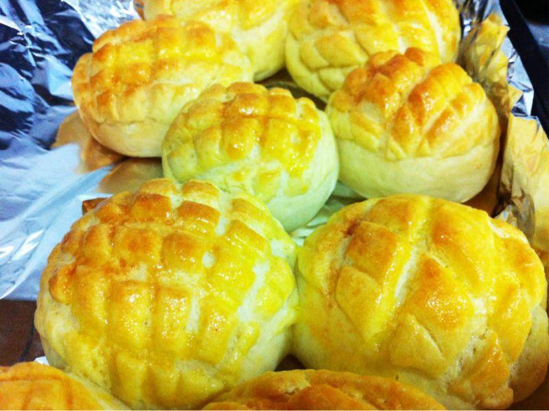 菠蘿麵包的做法_【圖解】菠蘿圖片