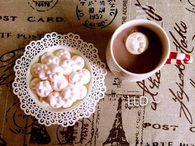 猫爪棉花糖的做法_【图解】猫爪棉花糖怎么做好吃