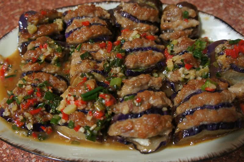 微博疯传的拌面 肉酿茄子 蒜蓉西兰花 翠竹报春 芒果西米露 韩国泡菜