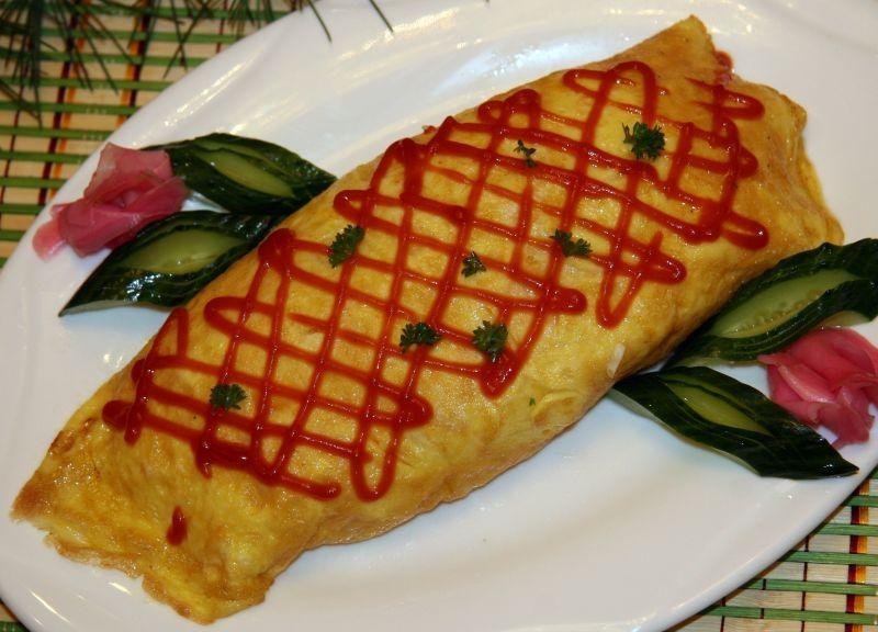 蛋包饭的做法_【图解】蛋包饭怎么做好吃_三松阁朝鲜