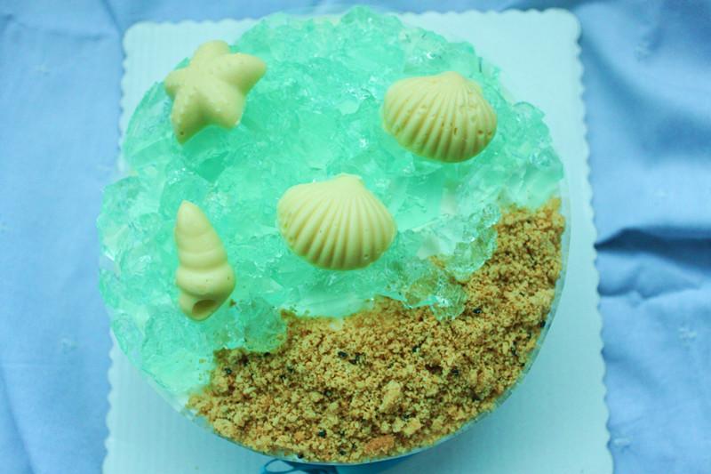 梦幻海洋(酸奶慕斯蛋糕)#长帝烘焙节