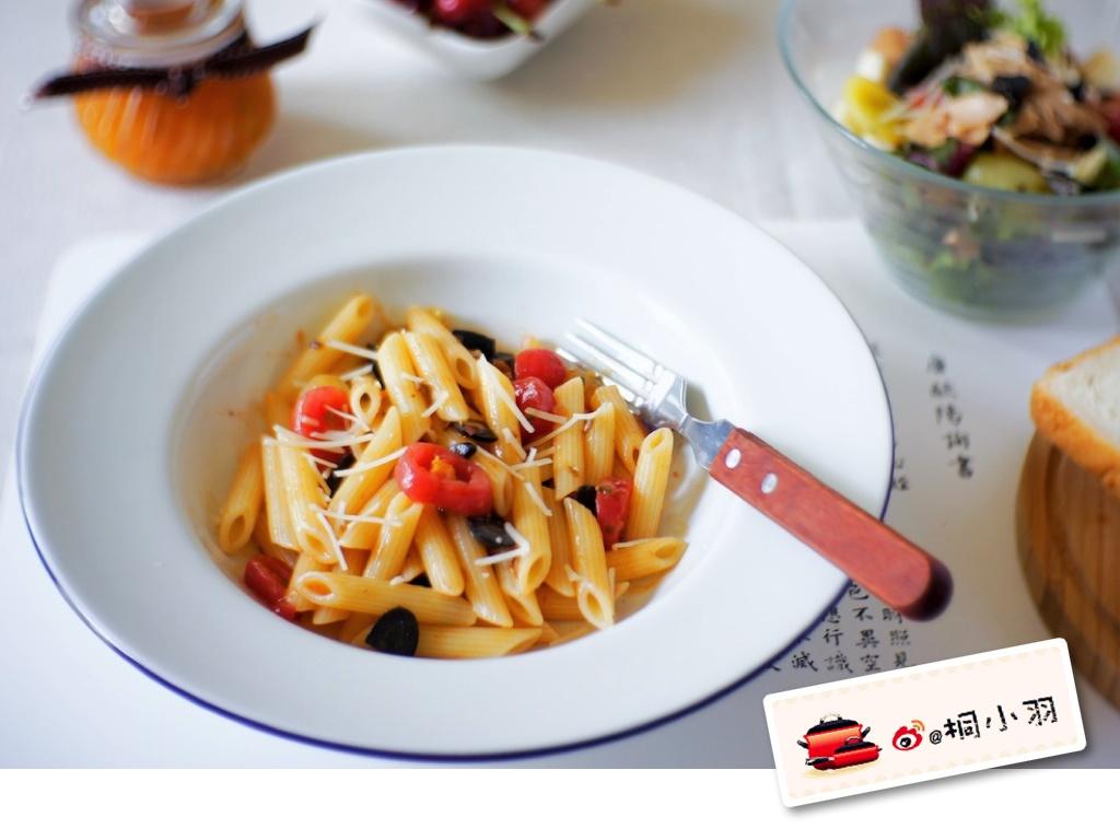 意大利 番茄 橄榄油 凉面/番茄橄榄油意大利凉面