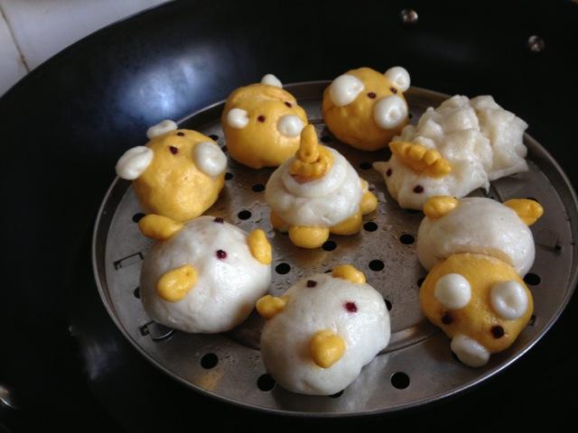 【日式棉花蛋糕卷. 软炸鲜蘑 史上最详细的小麦. 可爱动物造型馒头.