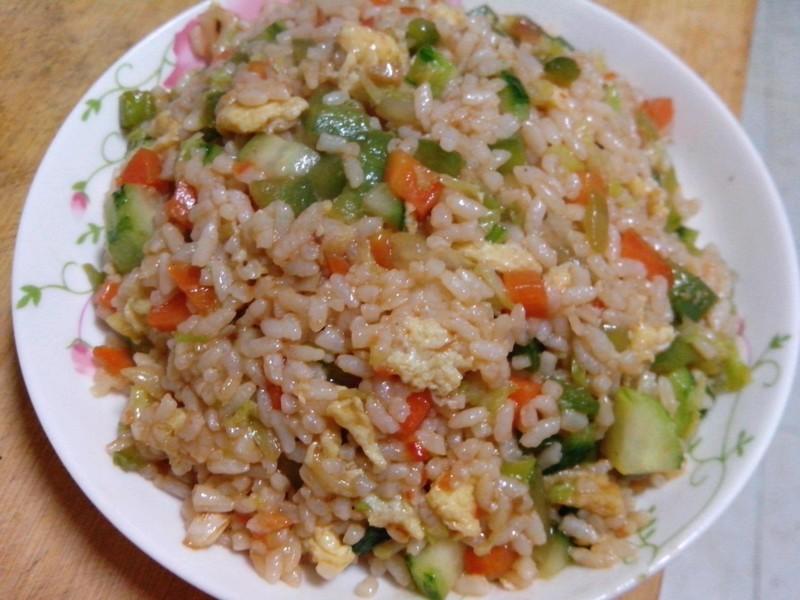 隔夜米饭一大碗 辅料图片