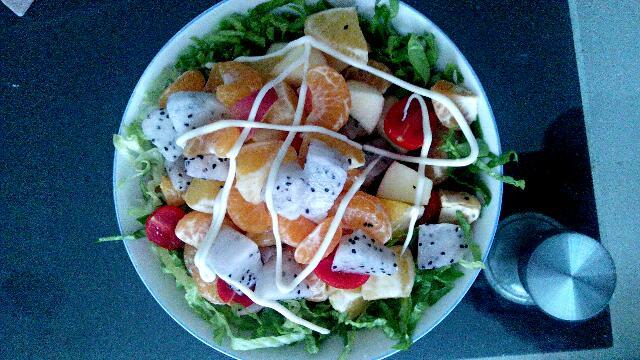 水果沙拉的做法 水果沙拉怎么做好吃 我是小馋馋 家常做法大全