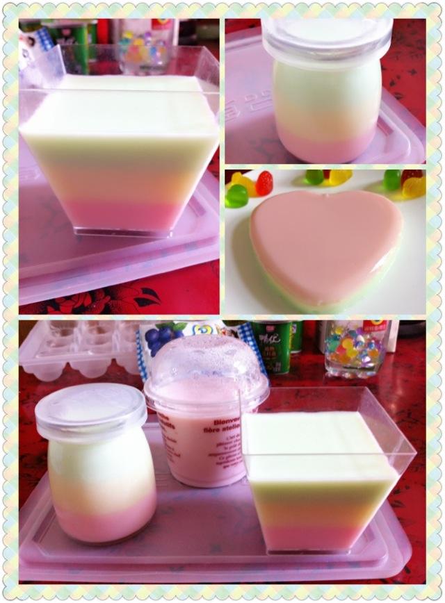 扫一扫 主料 qq糖36粒,纯牛奶200ml 彩虹布丁的做法步骤 1.