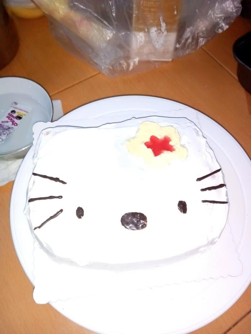 国庆蛋糕盘手工制作图片