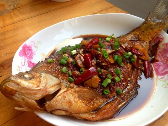 宿舍红烧鳊鱼的做法