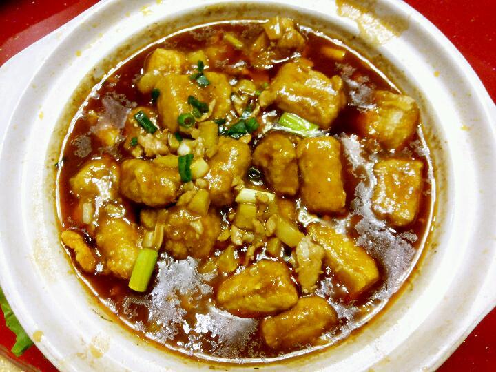 砂锅老豆腐的做法 砂锅老豆腐怎么做好吃 苍茫天涯 家常做-带饼子压