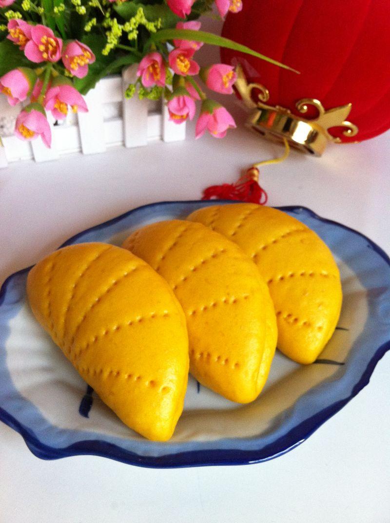 南瓜荷叶夹的做法_【图解】南瓜荷叶夹怎么做好吃_三