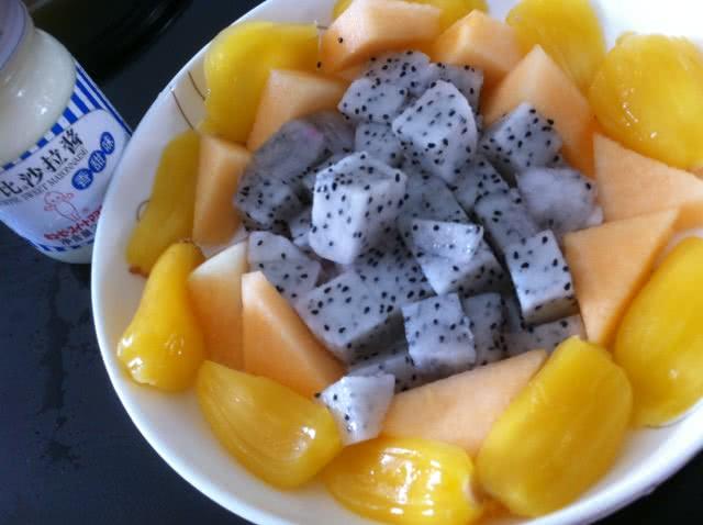 水果沙拉制作步骤图片