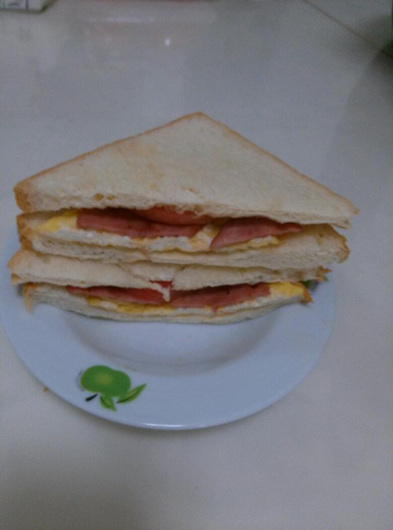 培根三明治的做法步骤
