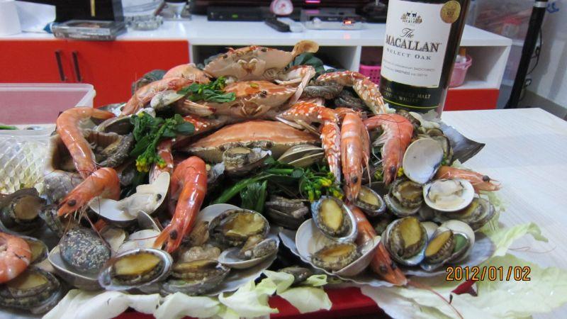 吉祥如意海鲜餐的做法_【图解】吉祥如意海鲜餐怎么做