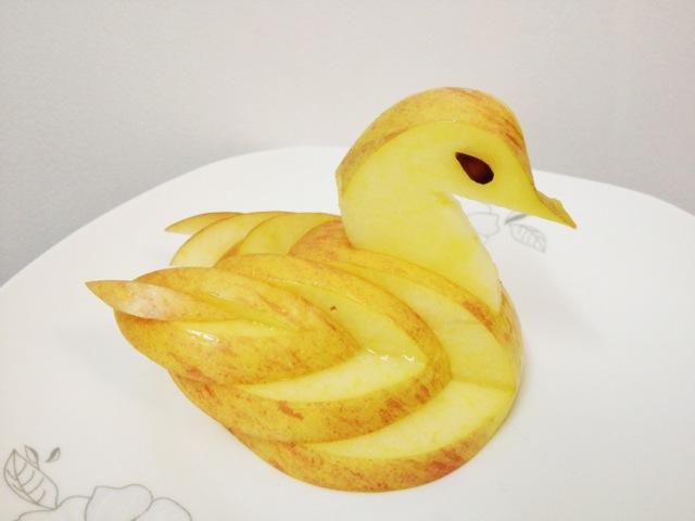 苹果天鹅手把手教你 拼盘装饰 的全部作品及图
