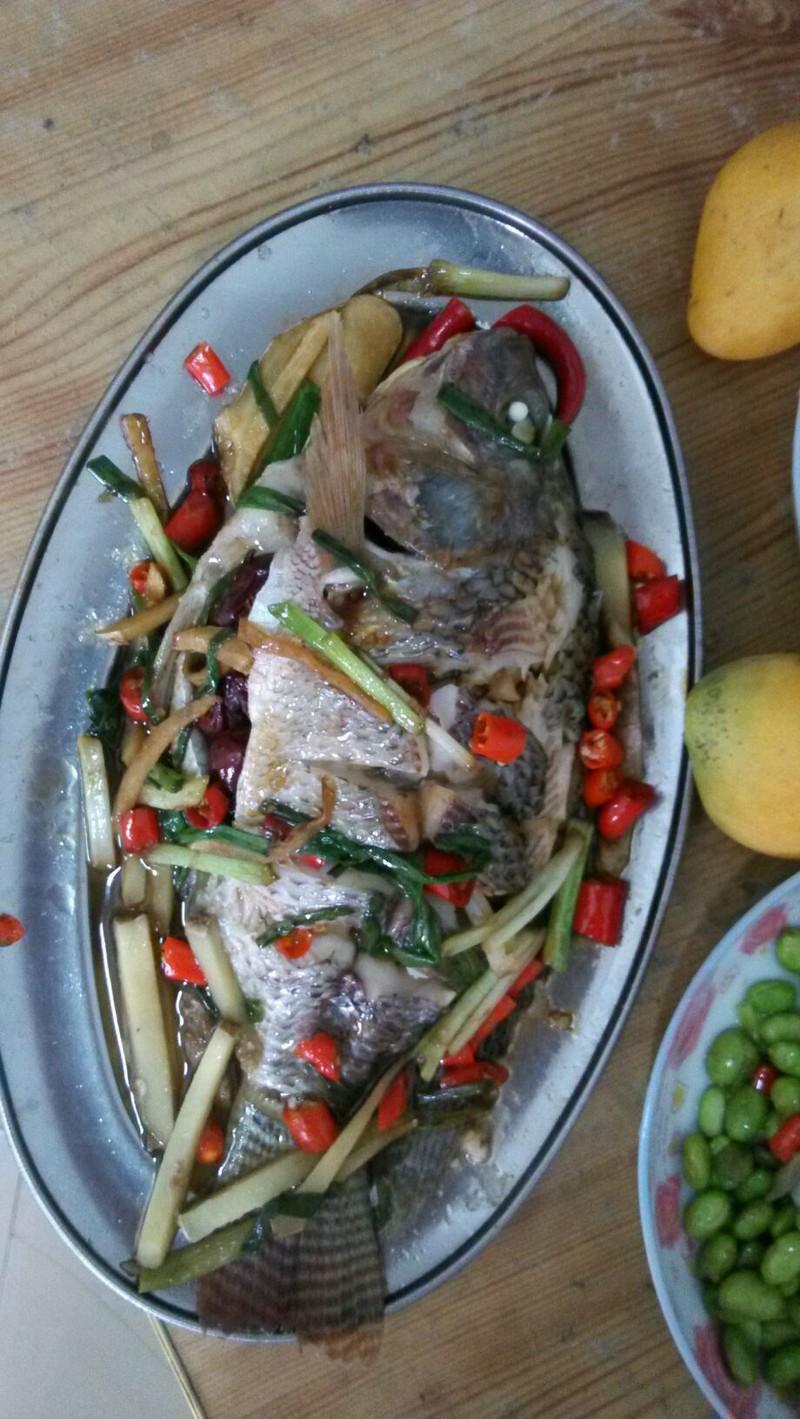 清蒸福寿鱼的做法步骤