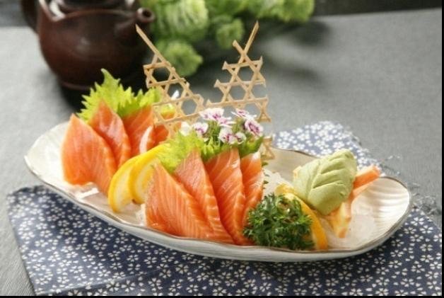三文鱼刺身的做法_【图解】三文鱼刺身怎么做好吃_荣
