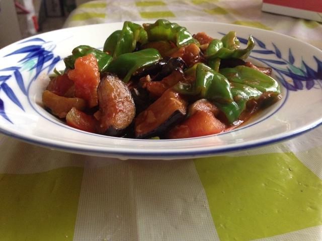 鱼香做法家常西红柿茄子的辣椒大全黄豆的青椒茄子做法做法图片