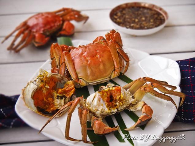 清蒸大闸蟹的做法_【图解】清蒸大闸蟹怎么做好吃_一