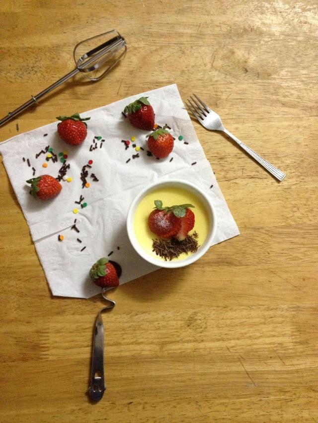 夏季炎炎、消暑甜品-奶酪布丁的做法