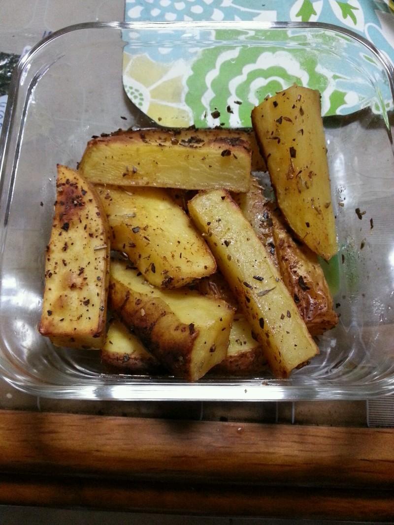 欧式烤薯条的做法