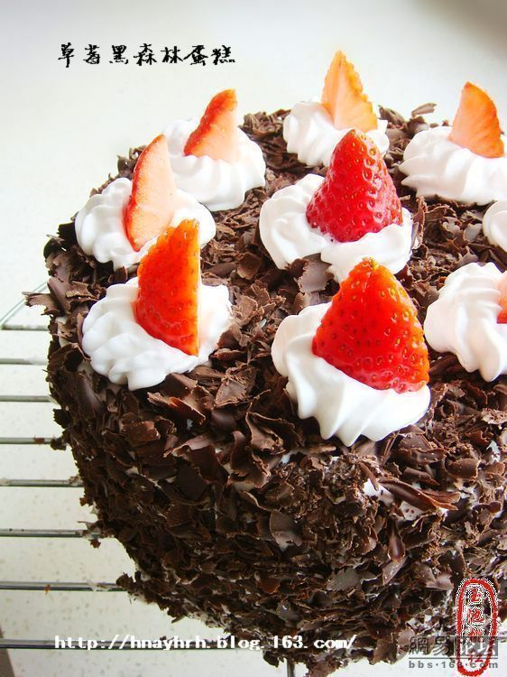 蛋糕 黑森林/草莓黑森林蛋糕