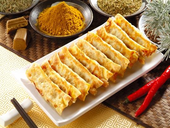 三鲜锅贴的做法_【图解】三鲜锅贴怎么做好吃_芒guo露
